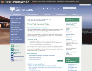 menlopark.gwfathom.com screenshot