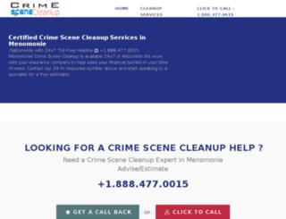 menomonie-wisconsin.crimescenecleanupservices.com screenshot