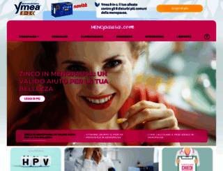 menopausa.com screenshot