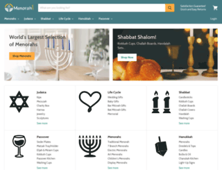 menorah.com screenshot