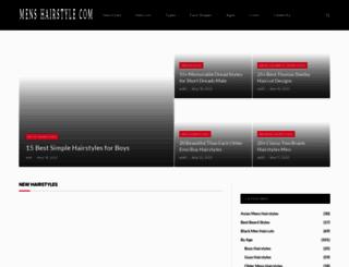 mens-hairstyle.com screenshot