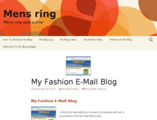 mens-ring.org screenshot