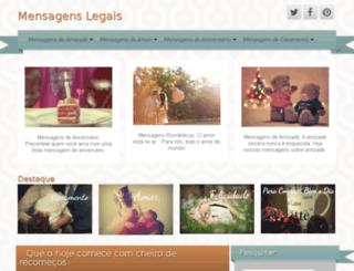 mensagenslegais.com screenshot