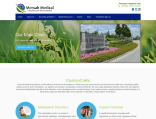 mensahmedical.com screenshot
