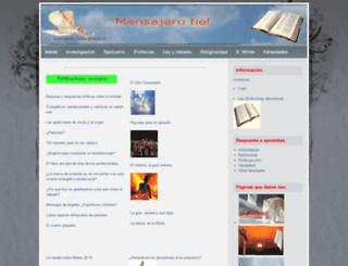 mensajerofiel.es.tl screenshot