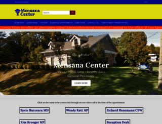 mensanacenter.com screenshot