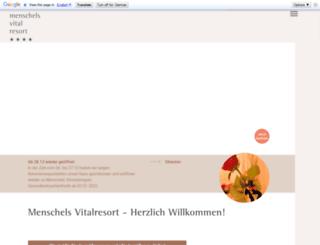 menschel.com screenshot