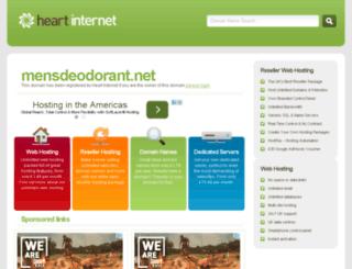 mensdeodorant.net screenshot
