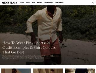 mensflair.com screenshot