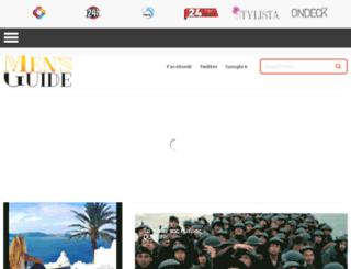 mensguide.com.cy screenshot