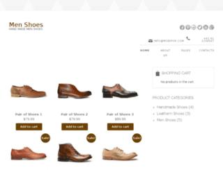 menshoes.mobifor.com screenshot