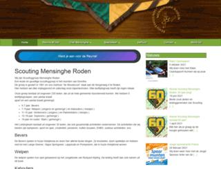 mensinghe.nl screenshot