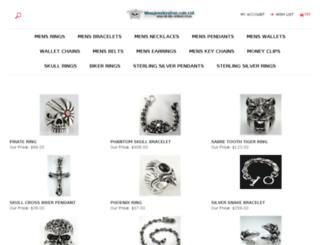 mensjewelrysilver.com screenshot