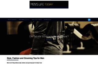 menslifetoday.com screenshot
