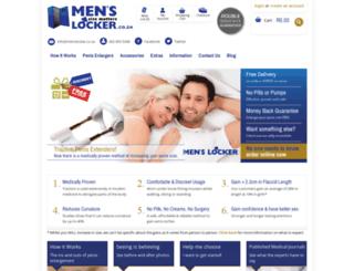 menslocker.co.za screenshot