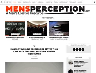mensperception.com screenshot