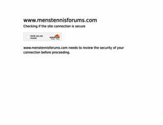 menstennisforums.com screenshot