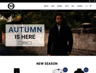 menswearonline.co.uk screenshot