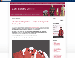 mensweddingdresses.blogspot.in screenshot
