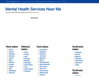 mental-health-services.find-near-me.info screenshot