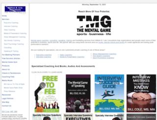 mentalgamecoach.com screenshot