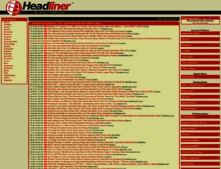 mentalist.headliner.org screenshot