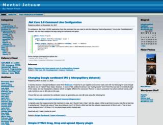 mentaljetsam.wordpress.com screenshot