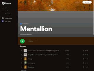mentallion.com screenshot