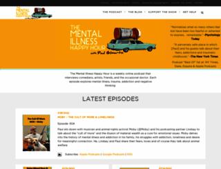 mentalpod.com screenshot