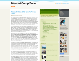 mentaricompzone.blogspot.com screenshot