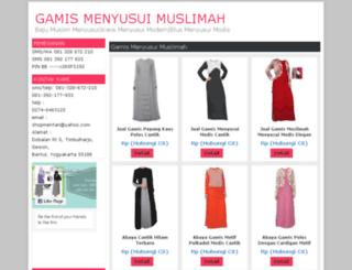 mentarishop.com screenshot