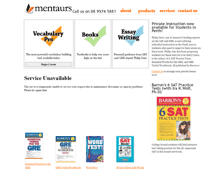 mentaurs.com screenshot