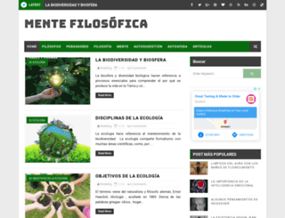 mentefilosofica.com screenshot