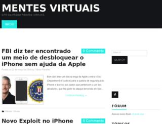 mentesvirtuais.info screenshot