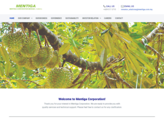 mentiga.com.my screenshot