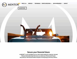 mentor1.com.au screenshot