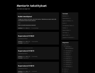 mentoriko.blogspot.com screenshot