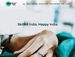 mentorindia.com screenshot