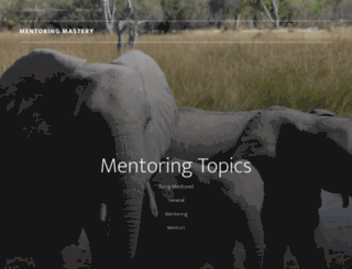 mentoringmastery.com screenshot