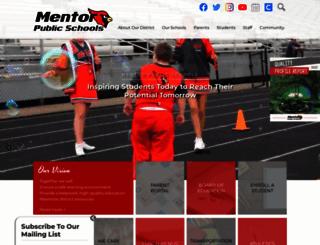 mentorschools.net screenshot