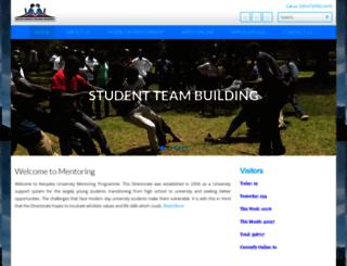 mentorship.ku.ac.ke screenshot