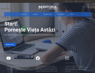 mentorul.ro screenshot
