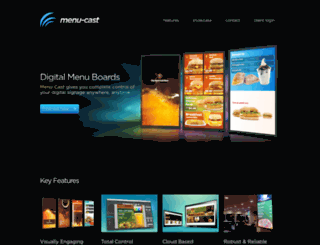 menu-cast.com screenshot