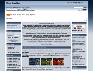 menu-graphics.net screenshot
