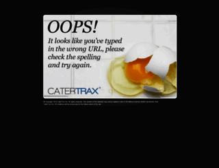menu-staging-ae20.catertrax.com screenshot
