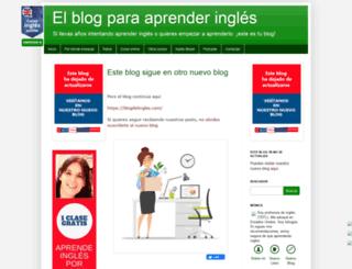 menuaingles.blogspot.com.es screenshot