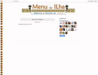 menudailha.blogspot.com screenshot