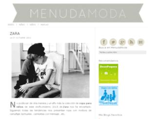 menudamoda.com screenshot