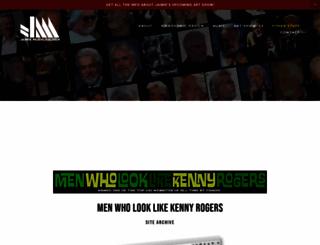 menwholooklikekennyrogers.com screenshot