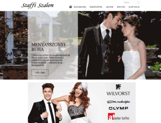 menyasszonyiruhaoutlet.hu screenshot